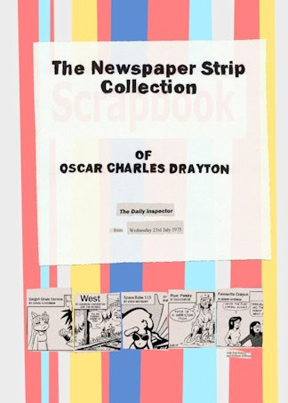 "The cover of ""The Newspaper Strip Collection Of Oscar Charles Drayton"""